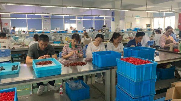 """丽水市总工会干部赴百事宝电器开展""""当一周工人、体工会初心""""活动"""