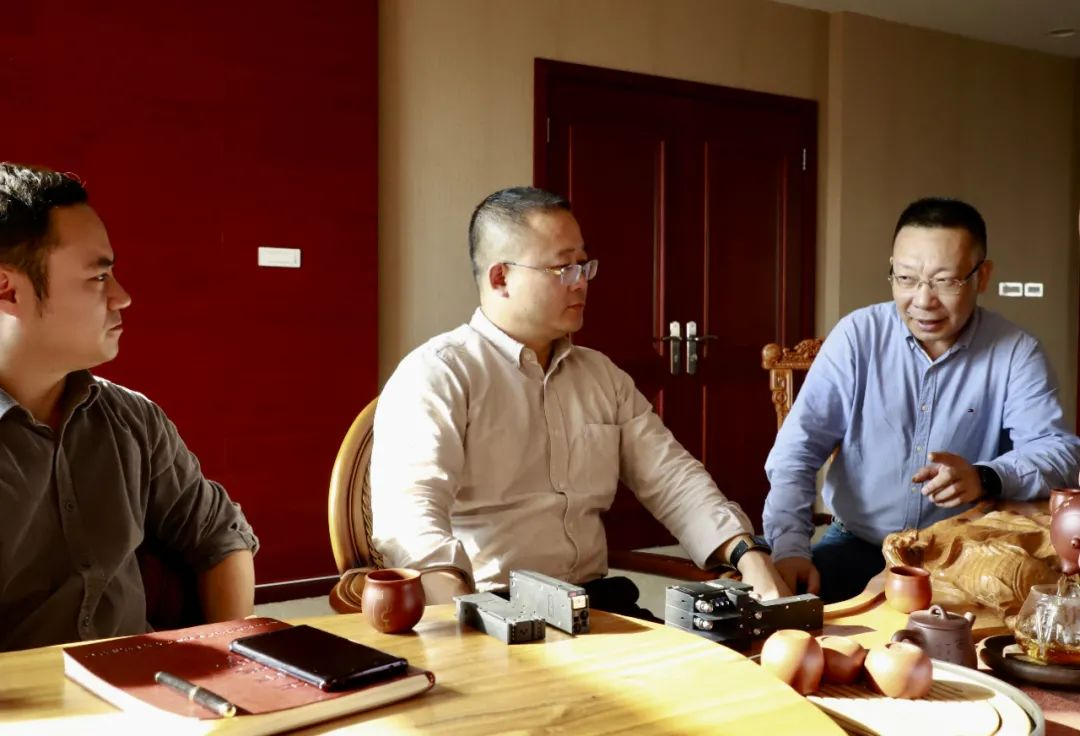 丽水开发区集团公司赴百事宝电器开展投后管理